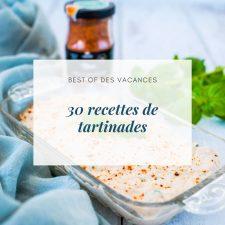 30 recettes de tartinades