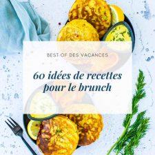 60 idées de recettes pour le brunch