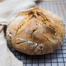 Pain au levain (recette du levain et du pain)