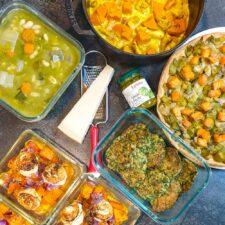 Une semaine de recettes d'automne en mode batch cooking
