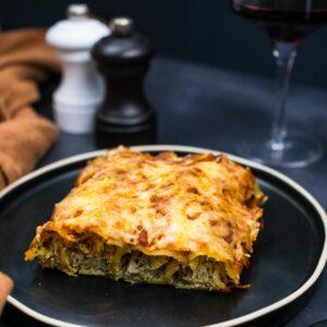 Cannellonis aux blettes et au skyr (fromage blanc islandais) - la cerise sur le maillot