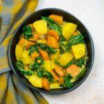 Colombo gourmand de légumes - la cerise sur le maillot