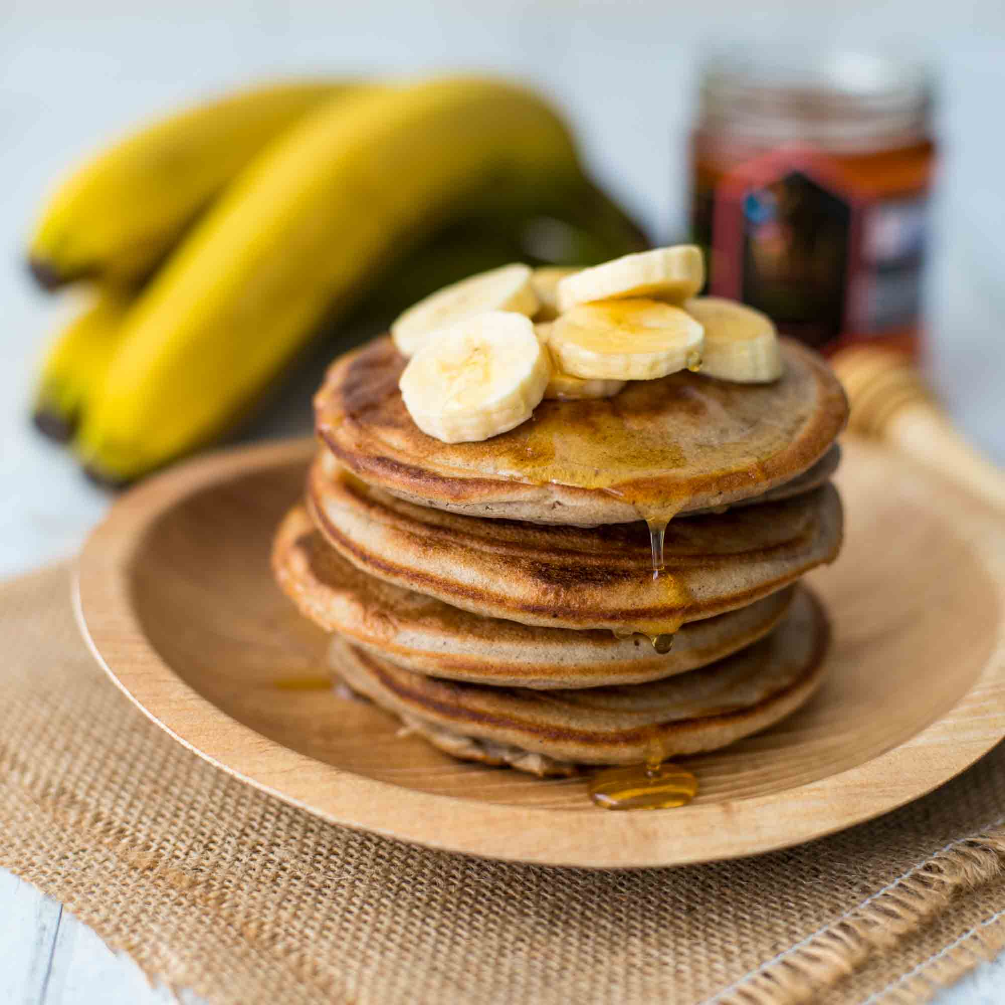 Pancakes antillais - la cerise sur le maillot