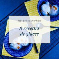 8 recettes de glaces - la cerise sur le maillot