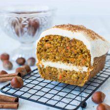 Carrot cake à la noisette