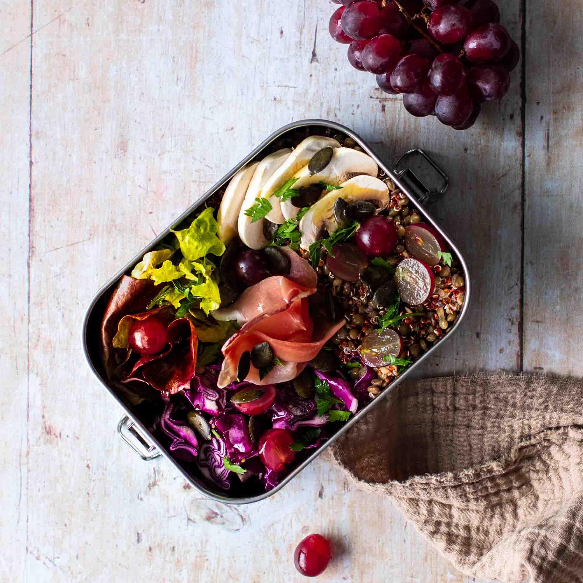 Lunch box d'automne au Serrano - la cerise sur le maillot